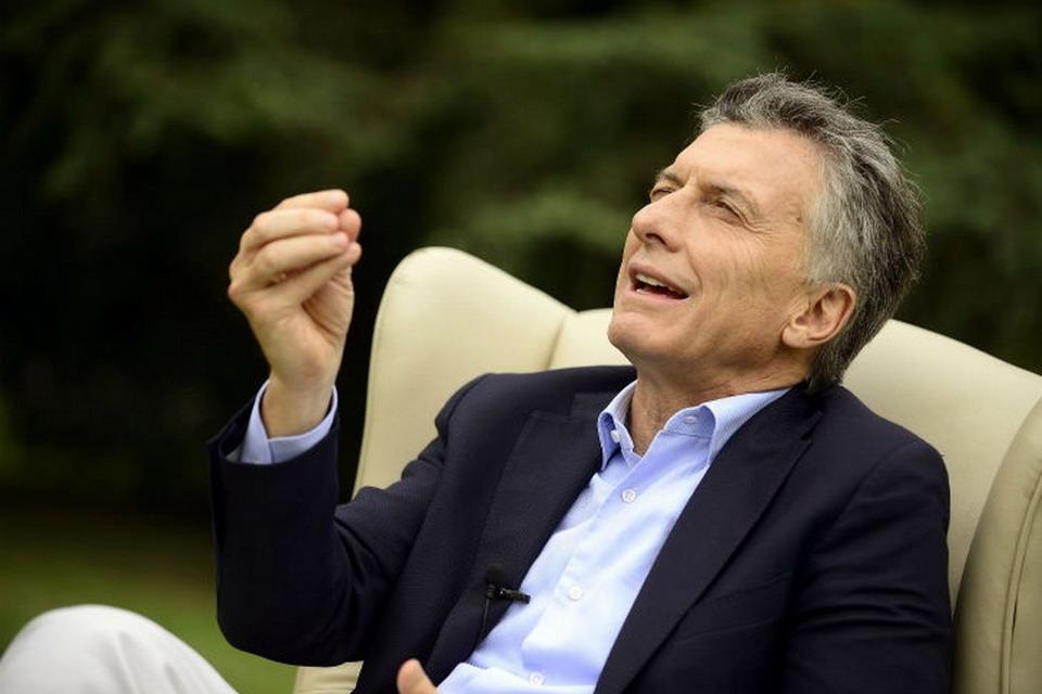 Mauricio Macri, presidente Argentino en cargo